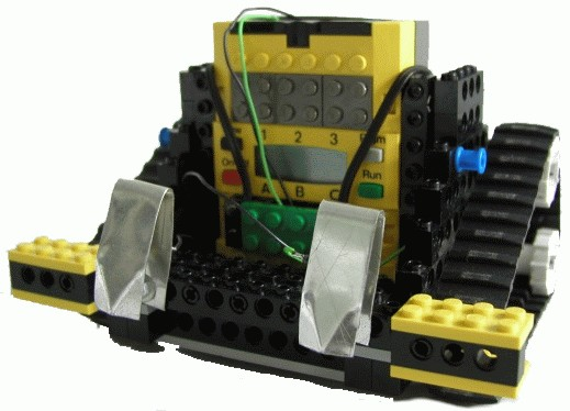 picture of driving LEGO robot