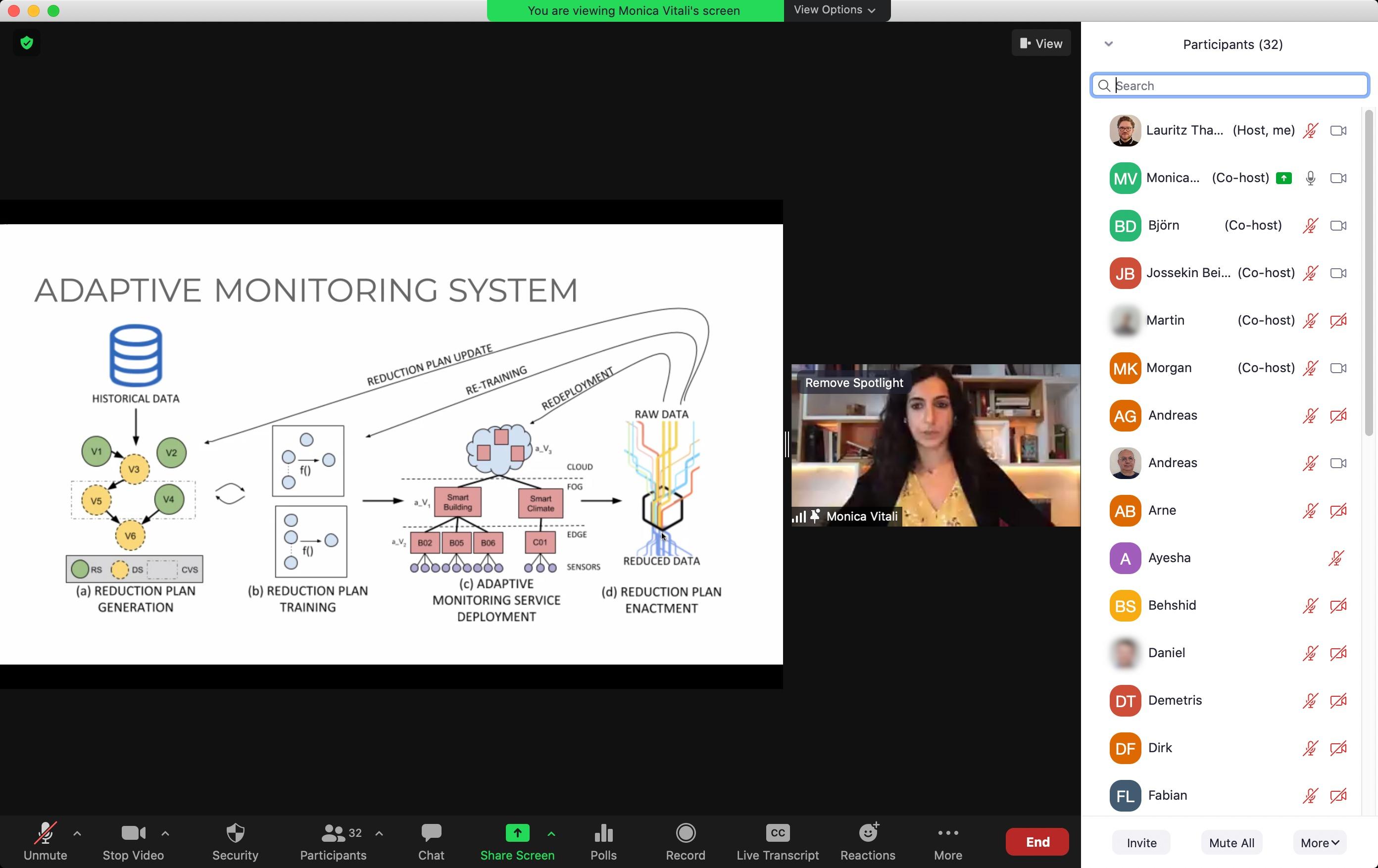 screenshot of TDIS workshop video conference